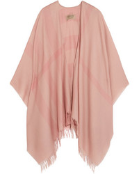 Burberry Checked Cashmere Scarf Blush