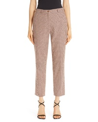 Etro Crop Stretch Cotton Pants