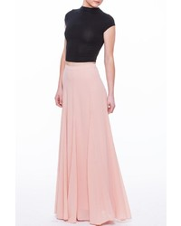 60834a1b11 Missguided Satin Wrap Maxi Skirt Pink Out of stock · Champagne Strawberry Blush  Maxi Skirt