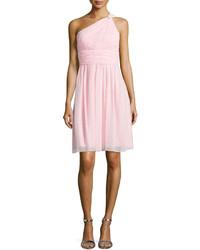 Pink Chiffon Party Dress