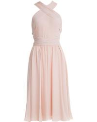 Silk chiffon dress medium 228689