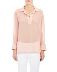 Barneys New York Kris Tunic Top Pink Size Xs
