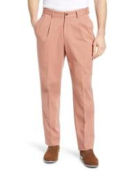 Berle Charleston Pleated Chino Pants