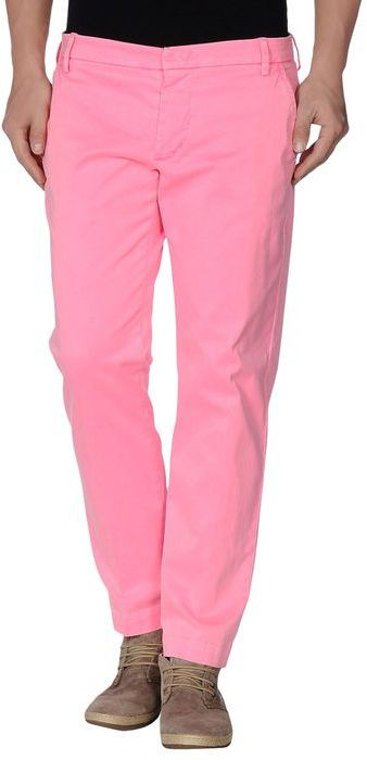 Pink chinos entre amis casual pants where to buy how for Souper original entre amis