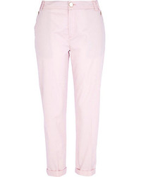 River Island Light Pink Chinos