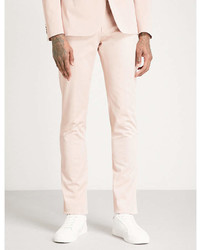 Paul Smith Slim Fit Tapered Cotton Blend Chino Trousers