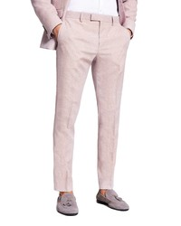 River Island Textured Skinny Trousers