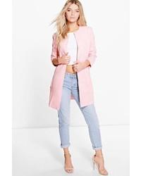 Women's Pink Coats by Boohoo | Women's Fashion