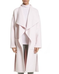 Collection double face wool blend drape coat medium 4423527