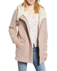 BCBGeneration Cozy Wool Fleece Coat