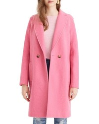 J.Crew Daphne Boiled Wool Topcoat