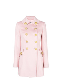 Dolce & Gabbana Double Breasted Fitted Coat