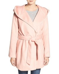 Steve Madden Hooded Wrap Coat