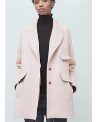 83b4c8e9527e1 Mango Outlet Women s Pink Coats from Mango   Women s Fashion