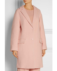 DKNY Oversized Wool Blend Coat   Where to buy & how to wear