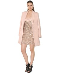 Roberto cavalli wool twill coat medium 637863