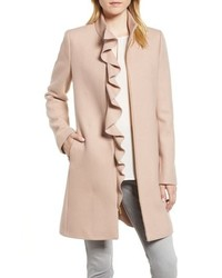 Ruffle twill coat medium 8649478