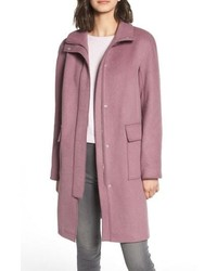 Kenneth Cole New York Wool Blend Long Coat