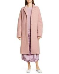 Vince Wool Blend Wrap Coat