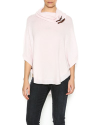 Tyler boe cashmere pink mist cape medium 535672