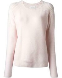 Pink crew neck sweater original 1331439