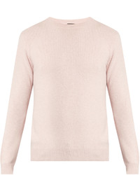 A.P.C. Ringo Crew Neck Wool And Cashmere Blend Sweater
