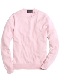 Men's Pink Crew-neck Sweaters by Brooks Brothers | Men's Fashion