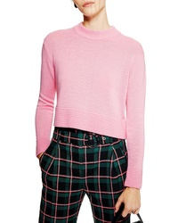 Topshop Cash Ottoman Crop Sweater