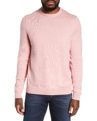 Nordstrom Men's Shop Cotton Cashmere Crewneck Sweater
