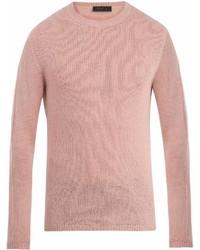 Prada Crew Neck Cashmere Sweater