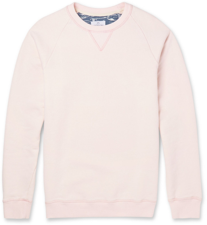 Hentsch Man Washed Cotton Jersey Sweater | Where to buy & how to wear