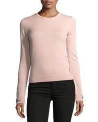 No 21 dolores crewneck long sleeve knit sweater medium 5053824