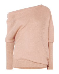Tom Ford Off The Shoulder Mohair And Sweater