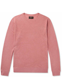 Beams Plus Linen And Silk Blend Sweater