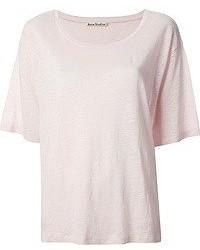 Acne Studios Wonder Linen T Shirt