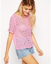 Asos Collection Crochet Tee