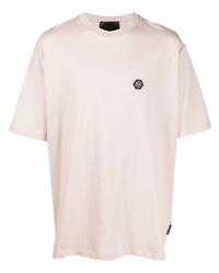 Philipp Plein Logo Plaque T Shirt