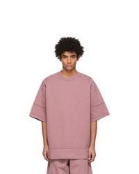 Jil Sander Pink Jersey T Shirt