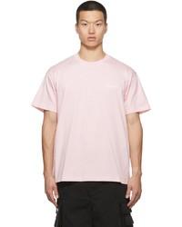 Vetements Pink Logo T Shirt