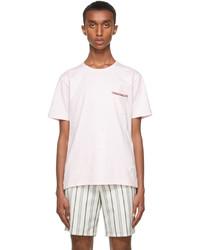 Thom Browne Pink Pocket T Shirt