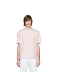 Thom Browne Pink Ringer T Shirt