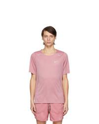Nike Pink Rise 365 T Shirt