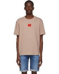Hugo Pink Terry Dorkshire T Shirt