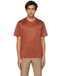 Brioni Red Logo T Shirt