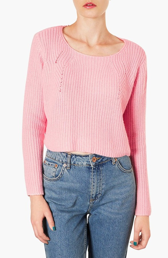 Topshop Ribbed Crop Sweater | Where to buy & how to wear
