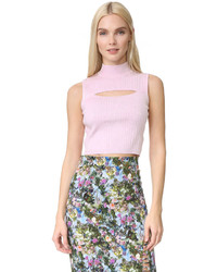 Mock neck crop top medium 953779
