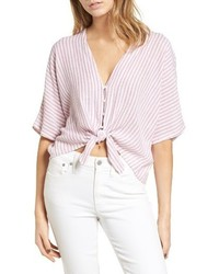 Thea tie front crop top medium 4154656