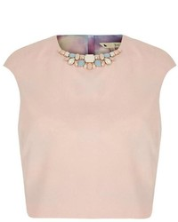 Yumi Embellished Crop Top