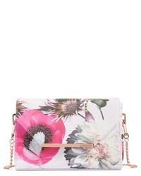 Ted Baker London Panello Neon Poppy Textured Bar Crossbody Bag Pink
