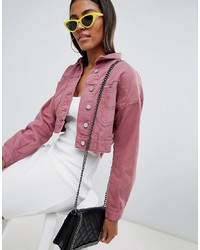 78800f25f Women's Pink Jackets by Missguided | Women's Fashion | Lookastic.com